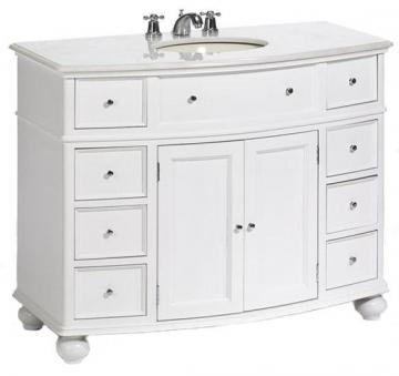 1: Bow Front Vanity