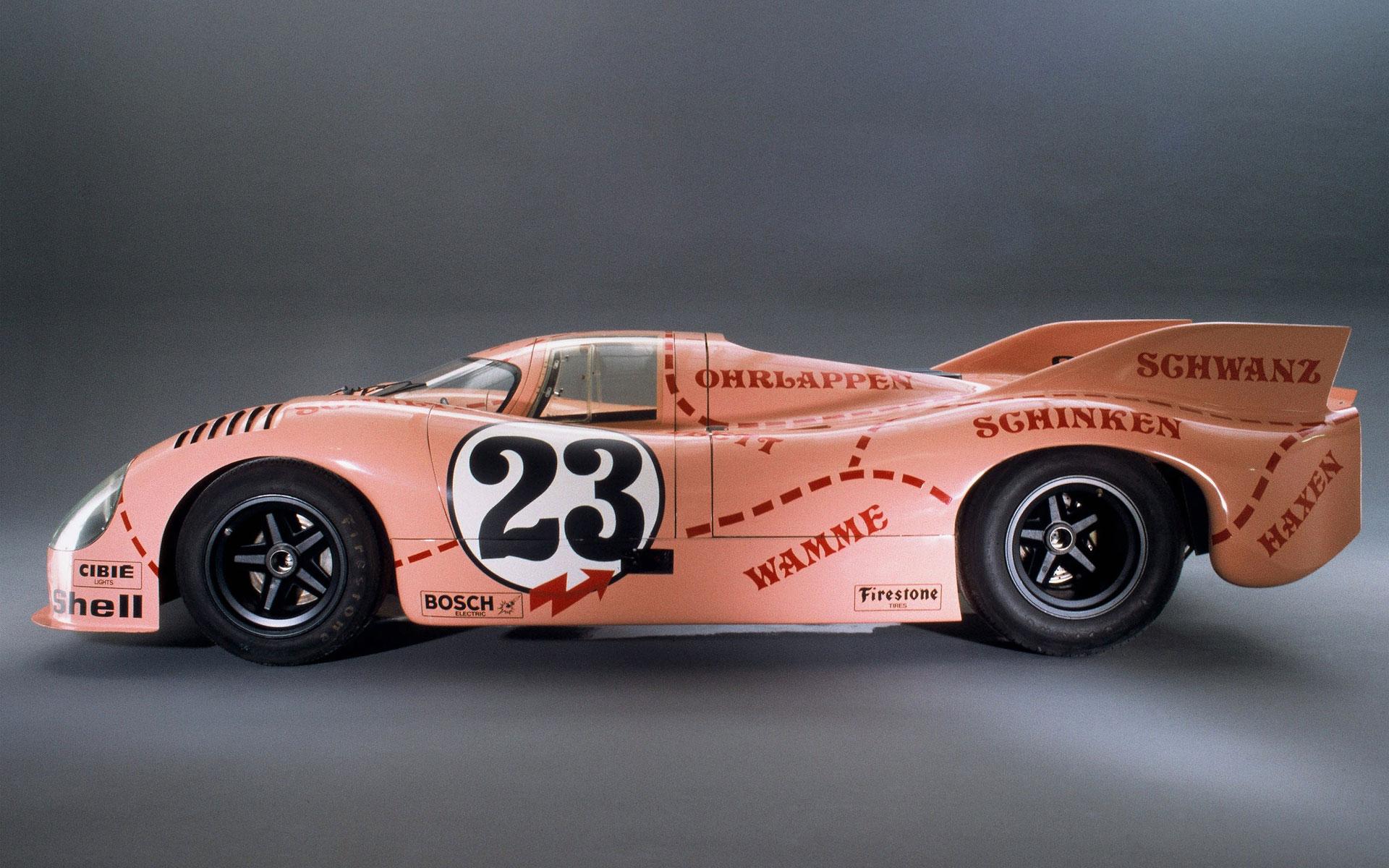 bed (w/ LeMans Porsche 917