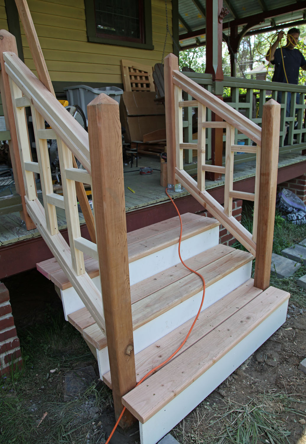 Greater Portland Homeworks Llc: Wooden Front Porch Step Ideas