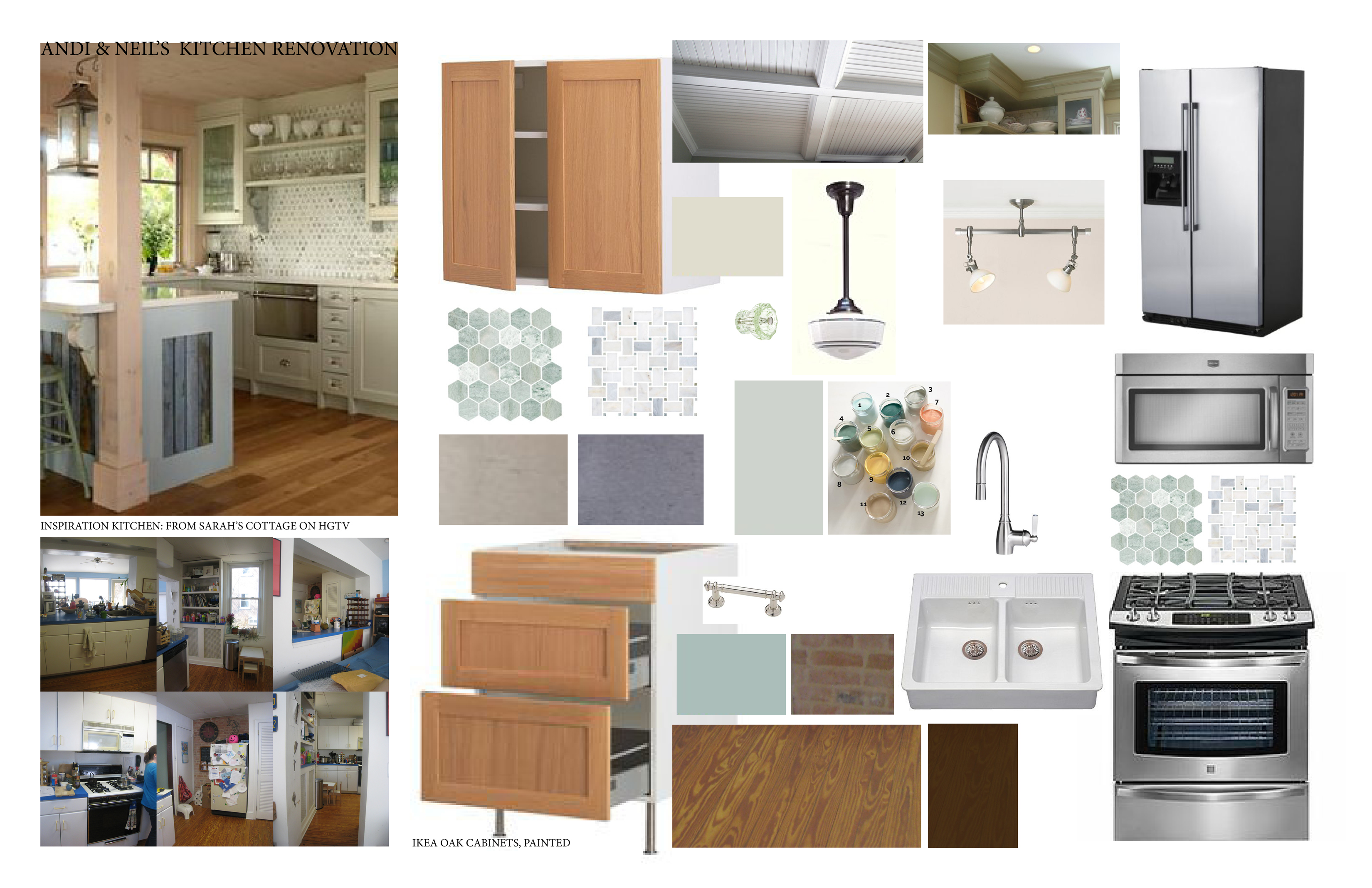 Andi neil s kitchen part 1 the plan stately kitsch for Kitchen examples