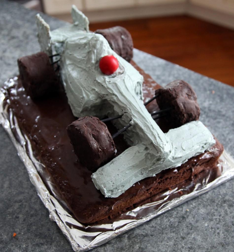 Mclaren F Car Cake