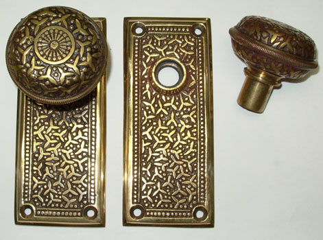 Reproduction Rice Pattern Door ... - Sources For Vintage, Antique And Reproduction Door Hardware