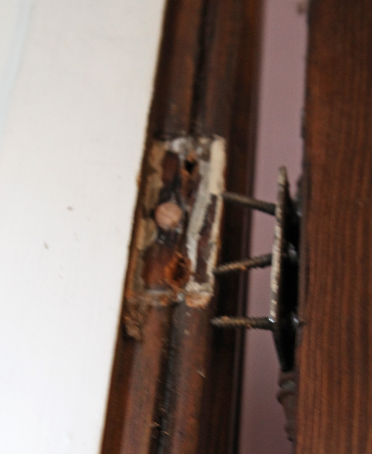 Replacing Amp Restoring Our Old Door Hardware Stately Kitsch