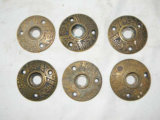 Superieur Un Restored Antique Door Rosettes, $55 For 6