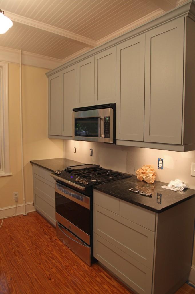 Strip Stain Kitchen Cabinets