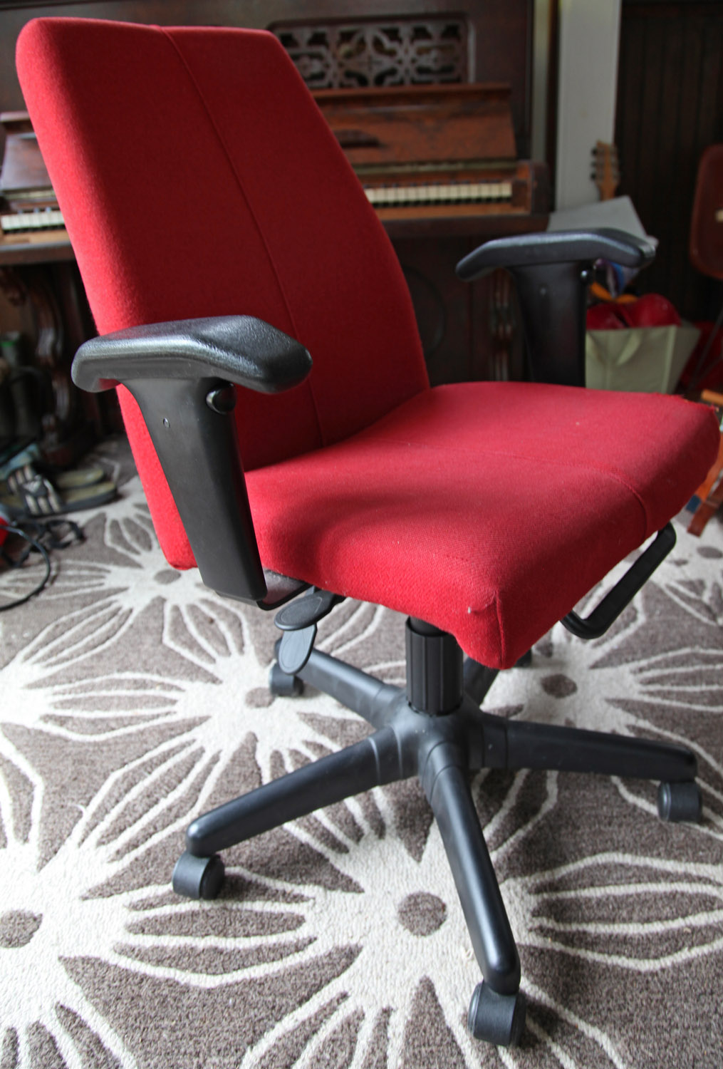Ikea Red Office Chair Unique Our Old Inside W