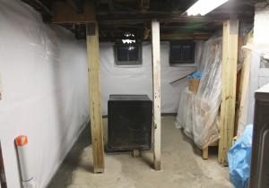 basement stately kitsch