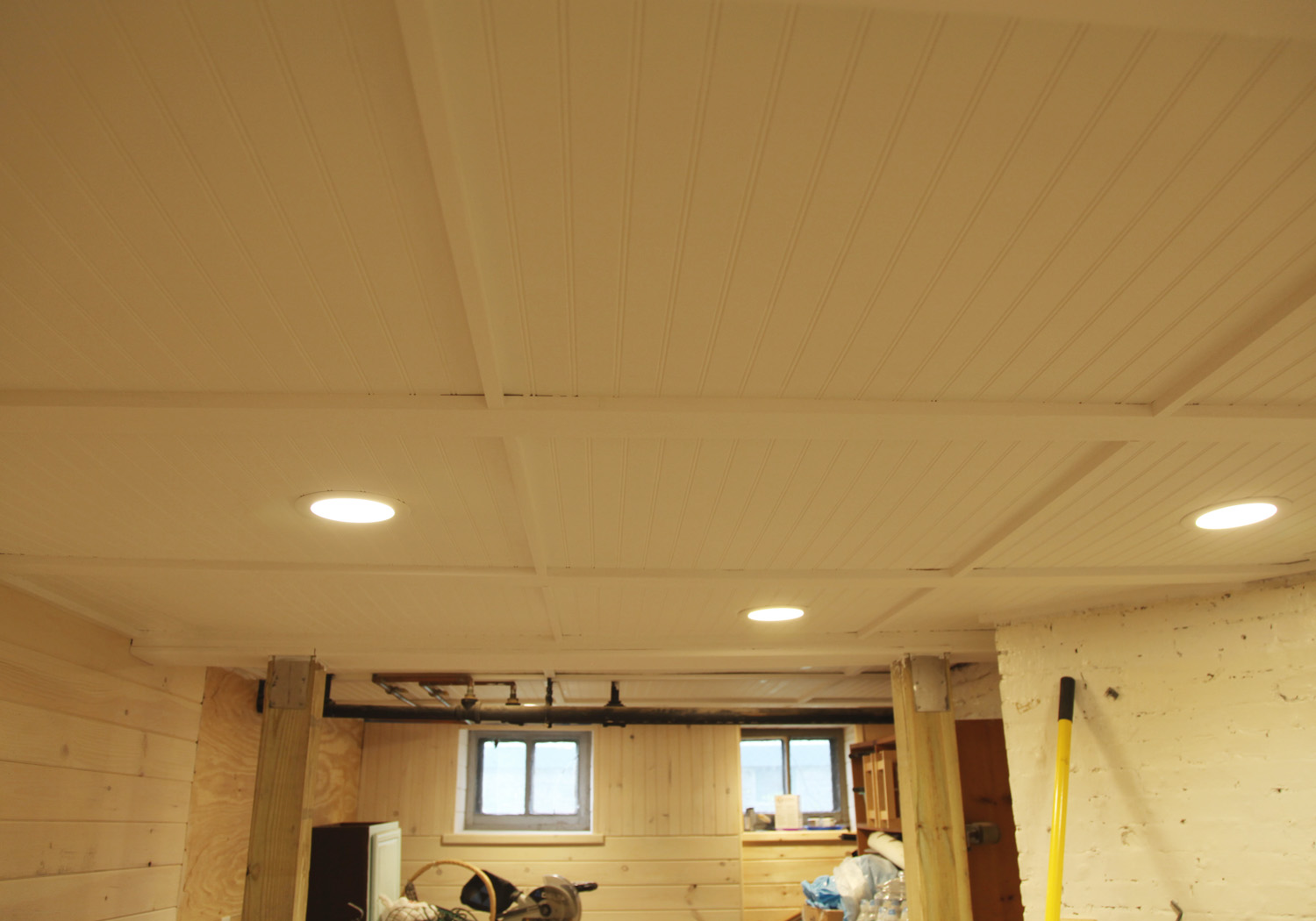 wood drop ceiling tiles to make the drop ceiling a