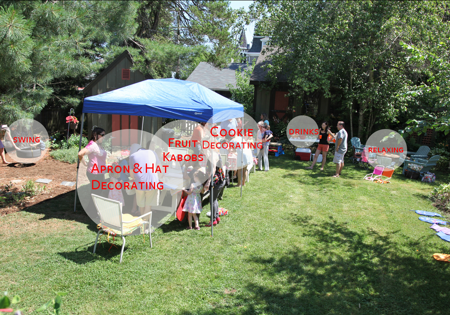 Decorations For Backyard Party : Displaying 14> Images For  Backyard Party Ideas Decorating