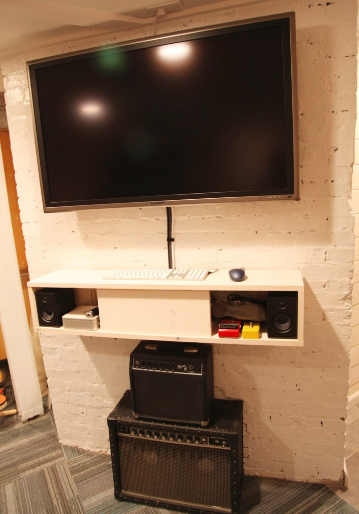 Our Basement Part 55 Media Console Stately Kitsch