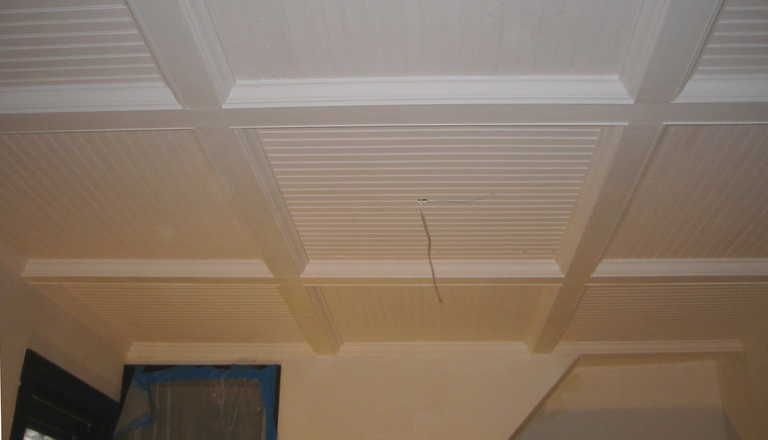 Beadboard options ceiling with removable sections stately kitsch our dailygadgetfo Choice Image