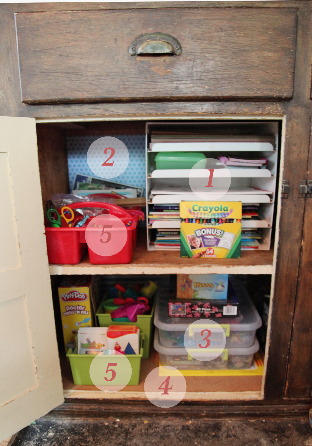 Kids Arts u0026 Crafts Storage Area ... & Kids Arts u0026 Crafts Storage | Stately Kitsch