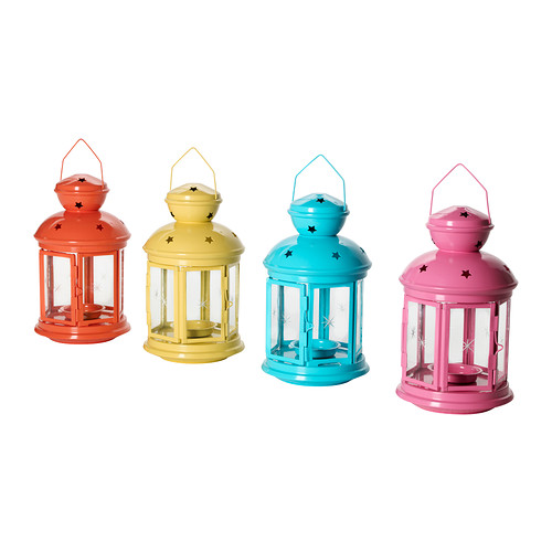 rotera-lantern-for-tealight-ikea