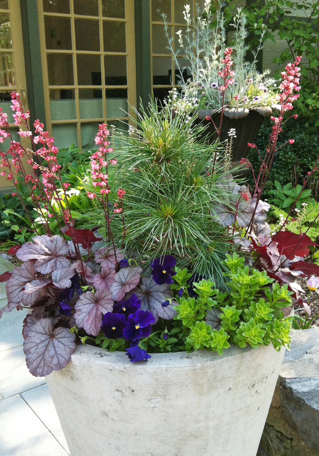 Flowers Garden Ideas: Beautiful Spring Container Plantings From Terrain And