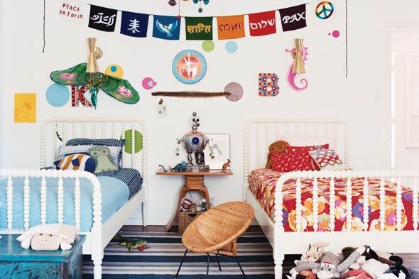 Mark Ruffalo's Kids Room from Elle Decor
